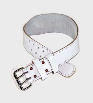 Weightlifting Belt White